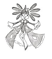 Project Fakemon: Mega Gothitelle by XXD17
