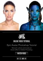 Epic Avatar Photoshop Tutorial - HD by tastytuts