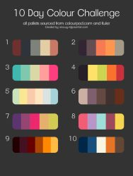 10 day colour challenge by Snowys-stock