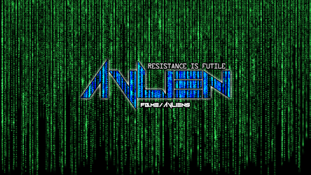AVLien Matrix Logo by damgood
