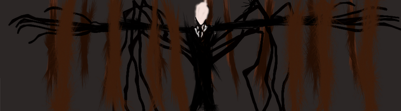 Slender Man by TheCadre