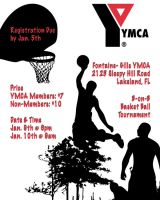 B-Ball tournament poster by BrittanysDesigns