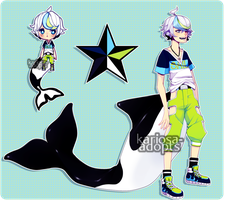 Orca Boy Auction (CLOSED) by Kariosa-Adopts