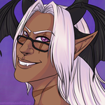 Icon Commission - Verin 1/4 by VenomousSoliloquy