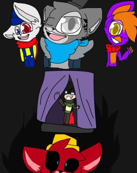 Five Nights at cj's by RDPen20