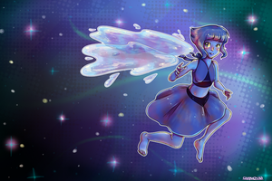 Cosmic water gem by Cappuchilla