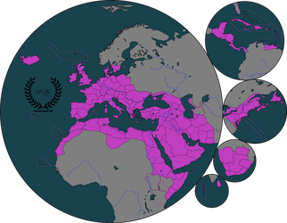 Greater Rome and Her Colonies by moxn
