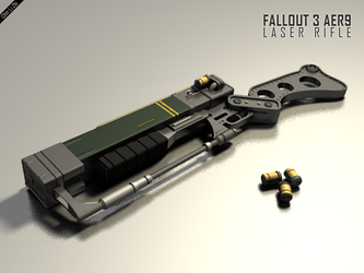 AER 9 Laser Rifle by Progenitor89