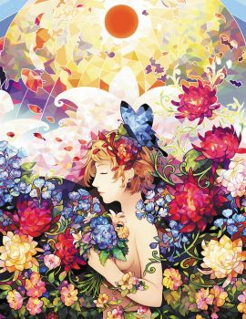 One Day Artbook: Raggi di Primavera by longestdistance