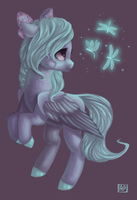 Flitter is the best pony by DomiDeLance