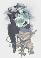 Goblin Queen by Redg404 by TheSteampunker