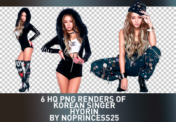 PNG PACK #97 | HYORIN by NoPrincess25