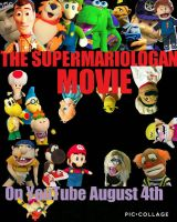 SuperMarioLogan movie poster by me by LeoHockey123