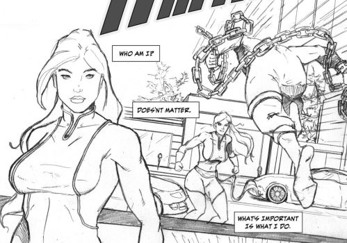 Ms Amazing ashcan Page 1 preview by ErickCruz