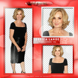 +Jessica Lange photopack png by ForeverTribute