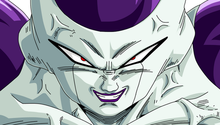 Frieza 100% Power Form by SbdDBZ