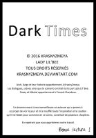 Dark Times Couverture 2 by KrasnyZmeya