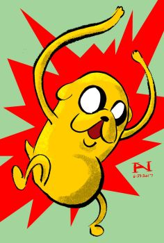 Jake the Dog by IanJMiller