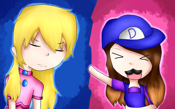 Tyler, Donna, what are you doing. by Anime-Gamer-Girl
