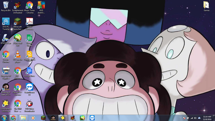Windows 7 Desktop: Steven Universe by jcpag2010
