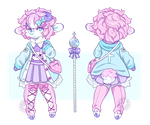 Custom Design ~ ViviVocaloid by LunarAdopts