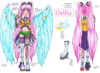 Delfi ref sheet by NasikaSakura