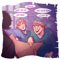 Fred, George and the Marauders Map 3/6 by Danger-Jazz