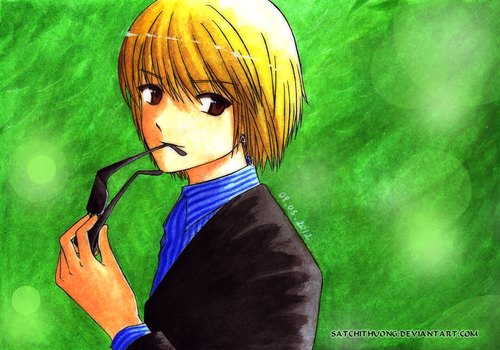 Welcome back, Kurapika by satchithuong
