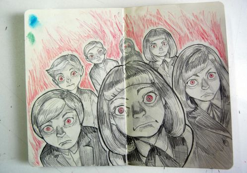 Village of the damned by KarlaDiazC