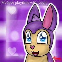 Me love playtime with You! (Tattletail) by WaffleBunnyPie