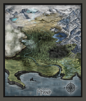 North of Nowhere: The Land of Elsynia by Amphispiza