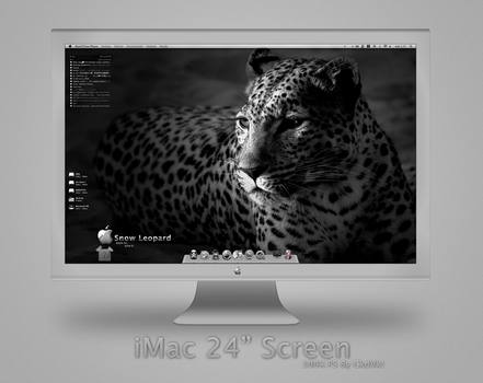 iMac 24 Screen by j--c