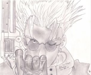 Vash the Stampede by frazaga962