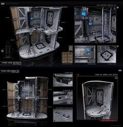 Cyrano cargo section by KaranaK