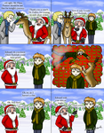 Twilight: Carlisle Saves Xmas and Edward Wrecks It by OdieFarber