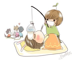 Get well soon Dubu by KnotBerry