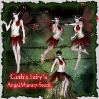 Gothhic Fairy's by AngelMoon17
