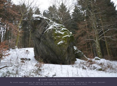 Wintertime 16 - Boulder by ceeek-stock