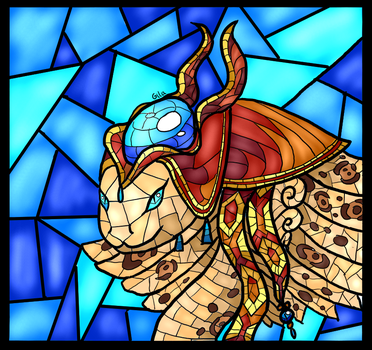Stained Glass---Ethedra by GilatheHybrid