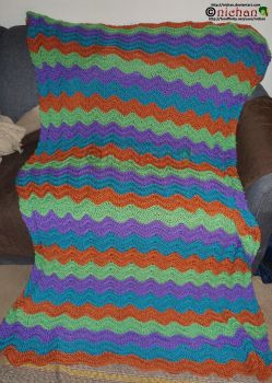 Crochet Blanket 3 out of 3 - For Addy by nichan