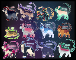 Gemigon Auction: Zodiacs [Closed] by catdoq