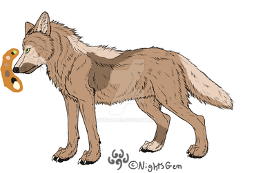 Wolf by Snowfall99