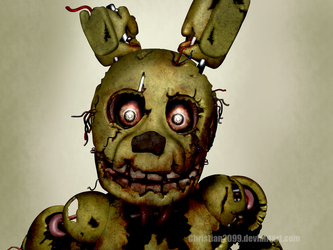 Five Nights at Freddy's 3 - Springtrap by Christian2099