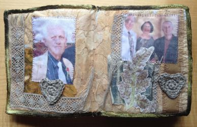 Fabric Book Family Page by RuthNorbury