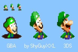 Luigi's Face re-sqashed by ShyGuyXXL