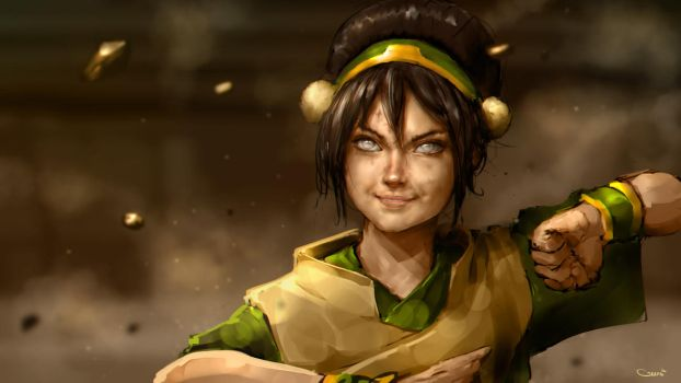 Toph Beifong by DarrenGeers