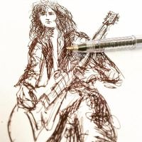 Jimmy Page by Nephellim
