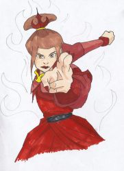 Azula, Princess of the Fire Nation by SirPomPom