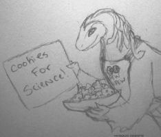 Cookies for Science! by jennovazombie
