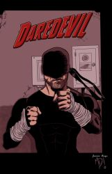 Daredevil - Netflix - COLOR by MartinDunn